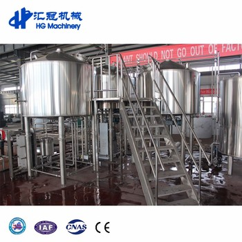 2000L 20BBL 20HL 3000L 30HL 30BBL Customized For Commercial Large Beer Equipment BreweriesTunkey Beer Equipment