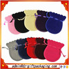 Multicolor Round Velvet Jewelry Bag