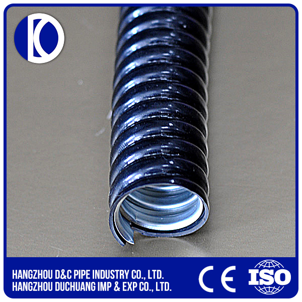 galvanized steel flexible conduit metal tube pvc coated flexible conduit