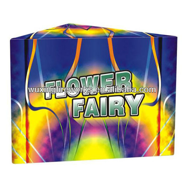 FLOWER FAIRY Triangle Shape CAKE FIREWORKS FOR CELEBRATION