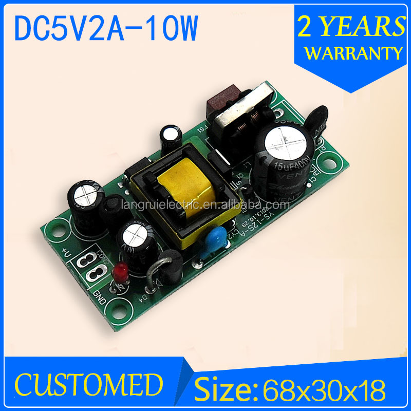 High efficiency ac/dc led power supply 5V 2A power transformer