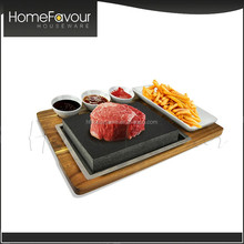 Market Oriented Supplier Steel Plate Homeware Lava Stone For Cooking