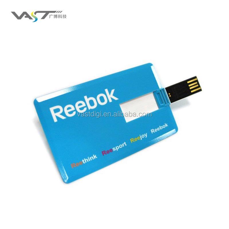 Advertising Gadget 4gb Business Card Usb Flash Drive/4gb Usb ...