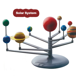 Planetarium solar system nine planets educational toys science kit for kids