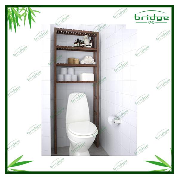 Estanterias para encima del wc mueble estante organizador - Mueble para encima del inodoro ...