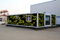 portable flat very small prefab container house