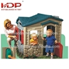 Plastic cubby house toys for kids to play indoor baby playground