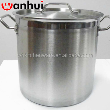 NSF induction ready stainless steel masterclass premium cookware for restaurant cooking
