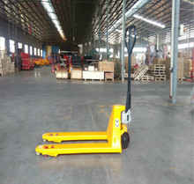 Economic Manual Hydraulic Hand Pallet Lift Jack / Pallet Truck with competitive price