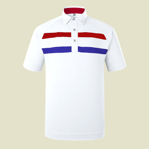 IN STOCK quick dry comfortable men golf t shirt polyester spandex pique polo shirt