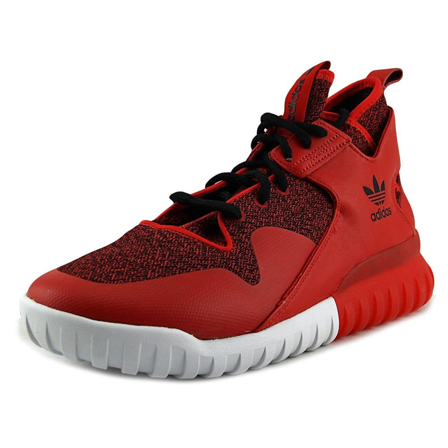 brand new 9b0fc 70570 ... Superstar Adicolor Fashion Sneaker. null. null. Get Quotations ·  Tubular X Mens in Red Red Black by Adidas, 11