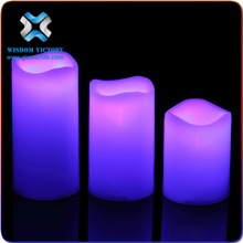 Hot sales led tea light candle , christmas Flicker flameless moving wick/dancing flame led candle