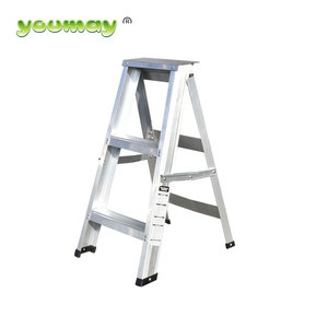Heavy Duty Hot Sale Double Sided Step A Type Ladder telescopic platform construction ladder