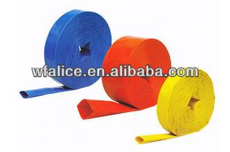pvc pump delivery blue lay flat water hose