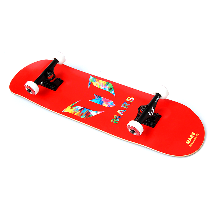 "Mars skateboards completo OEM professionale Canada Acero ponte 8 ""red"