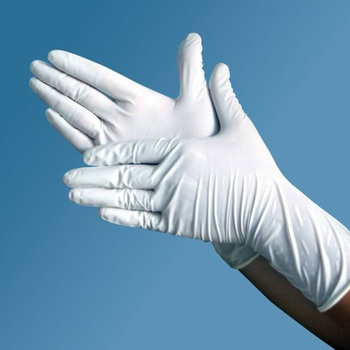 non-sterile powder free latex examination surgical gloves