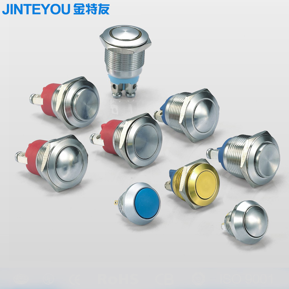IP67 Waterproof economical metal push button switch