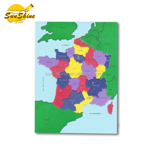 Educational EVA Foam puzzle map