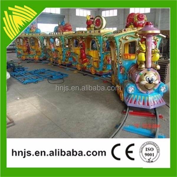 Outdoor or indoor game rides mini thomas train kiddie rides for sale