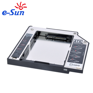 "Brand new aluminium 2.5"" IDE to SATA Second HDD Caddy for Laptop"