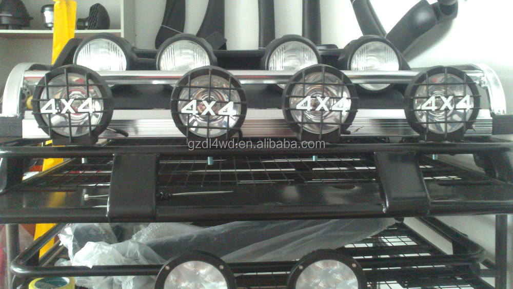 4x4 car roof top fog lights with ABS plastic fog lamp cover