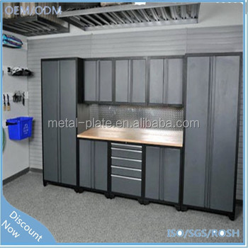 adjustable shelves metal garage storage cabinet buy. Black Bedroom Furniture Sets. Home Design Ideas