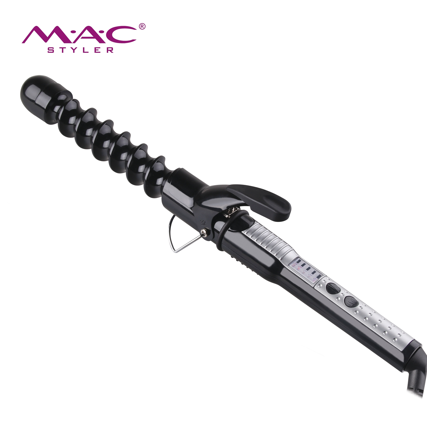 Hair Styling Tools Curling Iron With PTC Heater Adjustable Temperature Salon Barbers Affordable Hair Curler