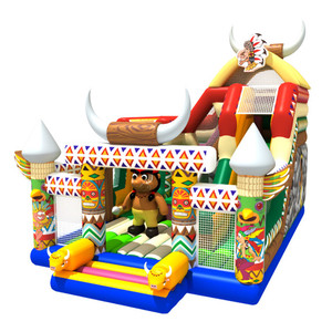China wholesale inflatable playground exporting cheap inflatable bouncer for sale Canada USA Europe