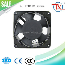 """ 110V/220V/380V/420V 120*120*38mm OEM or Maintenance-free 4"""" Axial Cooling Fan for Office Automation Products"""