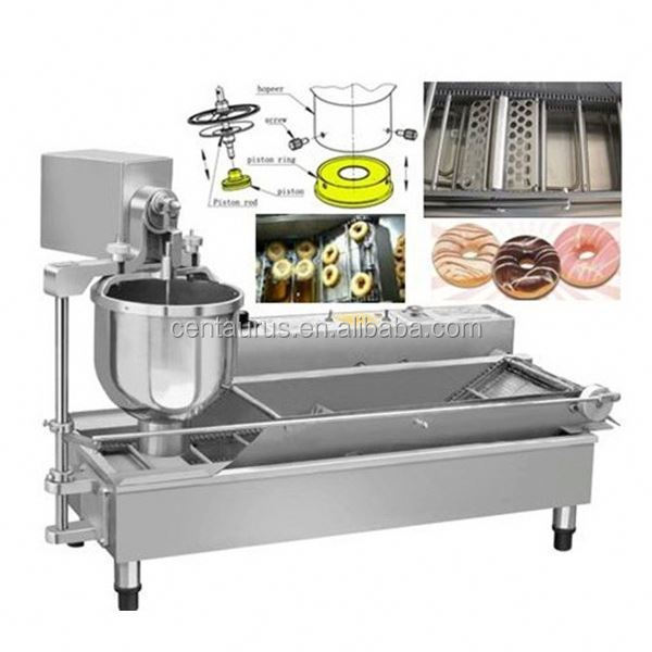 Best price donut/dough making machine with 3 moulds and low energy consumption
