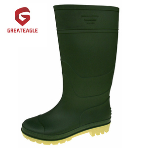 Hot Selling Cheap PVC Working Gum boots Wellington boots for men