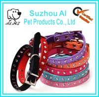 Pet Accessory Seven Colors Crystal Diamond Bling Dog Collar