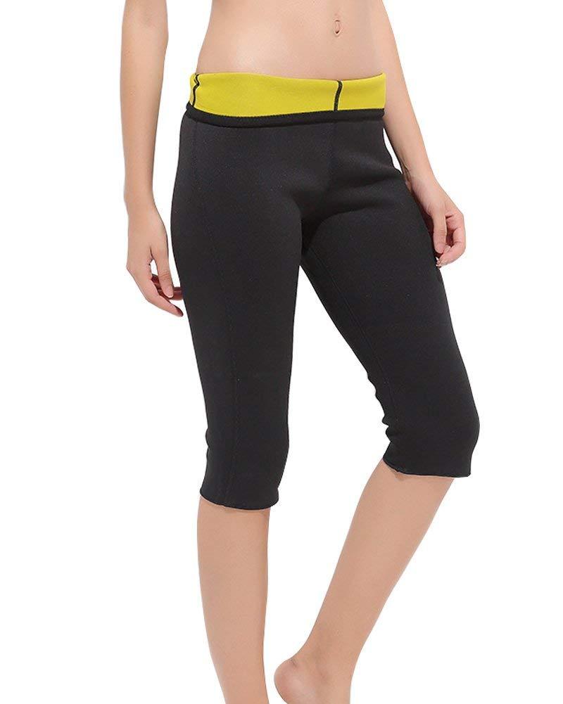 da9323b6f Women s Slimming Pants Neoprene for Weight Loss Fat Burning Sweat Sauna  Suits Cropped pants