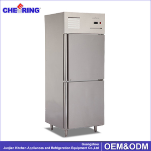 high quality refrigeration equipment stainless steel fan cooling blast freezer/refrigerator freezer/fridge freezer with CE