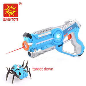 Lazer Tag Gun Set Multi Player Laser Tag toy gun for Kids with Laser Tag Spider Target
