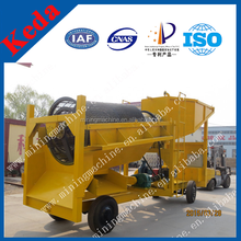 Small Scale Alluvial Gold Separation Plant With Oscillating Sluice