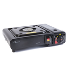 Lpg Table top cooking Portable Camping mini Built in gas stove Stainless steel Cylinders Valve