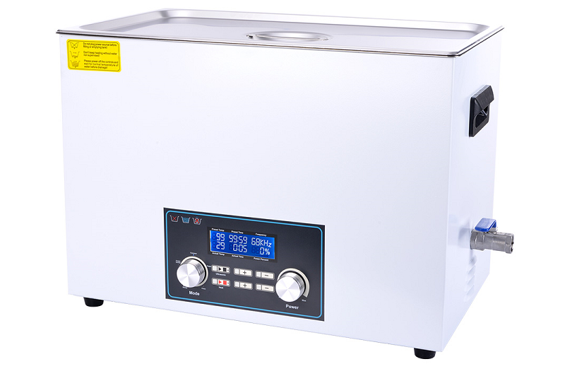 Multifunctional 30L Large Capacity Ultrasonic Lab Cleaner with Power Cut Memory and High Precision