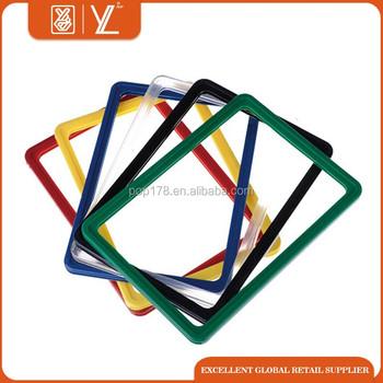 Supermarket Plastic Poster Frame For Hanging - Buy Plastic Poster ...