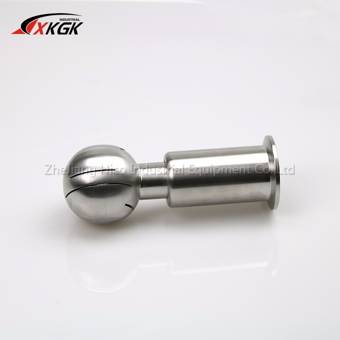 Top quality sanitary stainless steel clamped spray ball