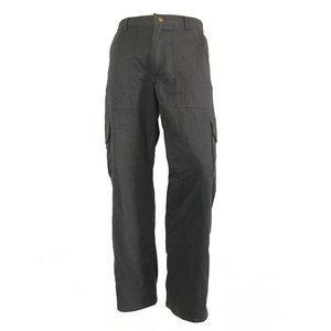 men cotton twill fabric pants work trousers