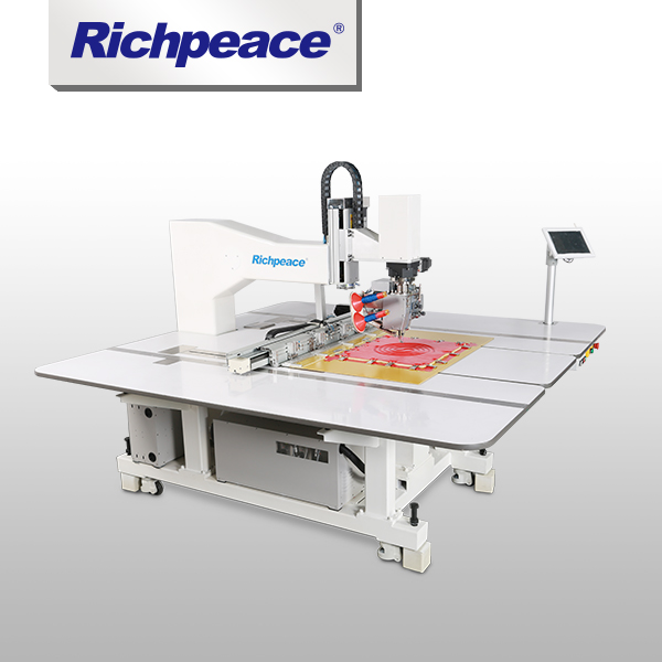 Middle Material Double-needle Universal Richpeace Automatic Rotating Sewing Machine