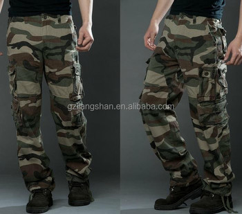 c6826c2885f New style pants wholesale mens cargo pants mens army green camo cargo pants