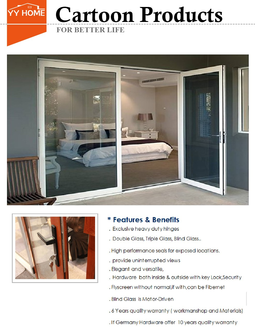 Australian standard tempered glass sliding door 3 panel used sliding glass doors sale