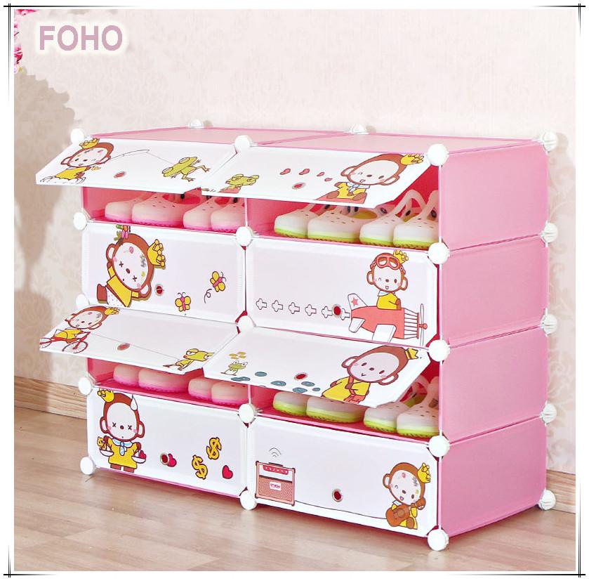 Mono dise o diy f cil beb organizador de zapatos con puertas otros muebles de pl stico - Organizador de zapatos ...