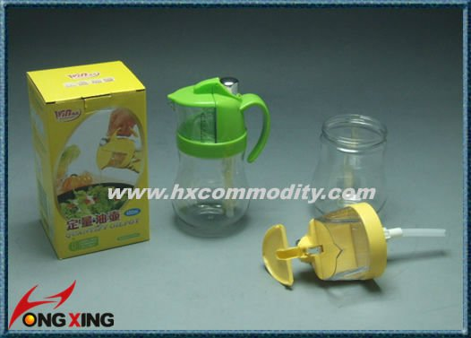 plastic kitchen bottles for oil ,measure can