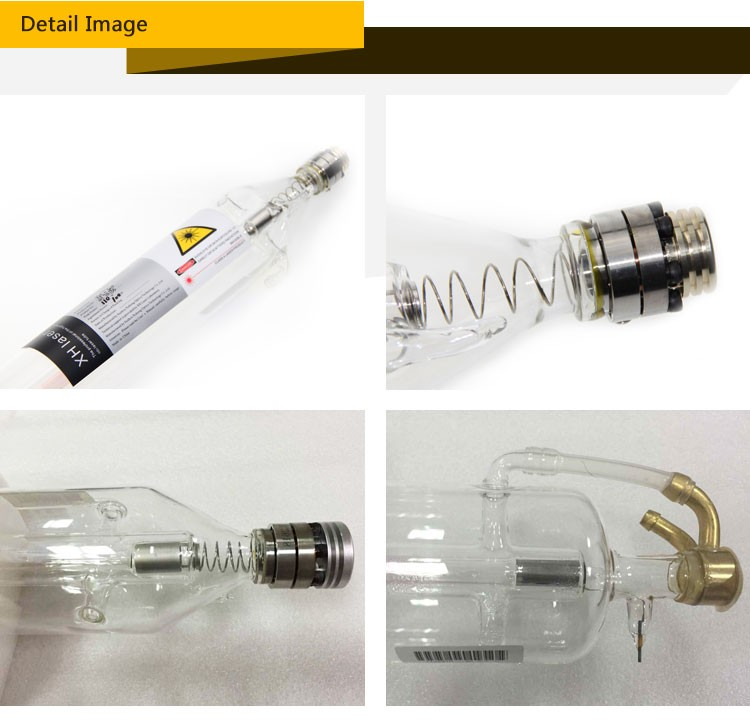 Longlife durable 75w 90w 100w 130 150w reci Co2 Glass Laser Tube