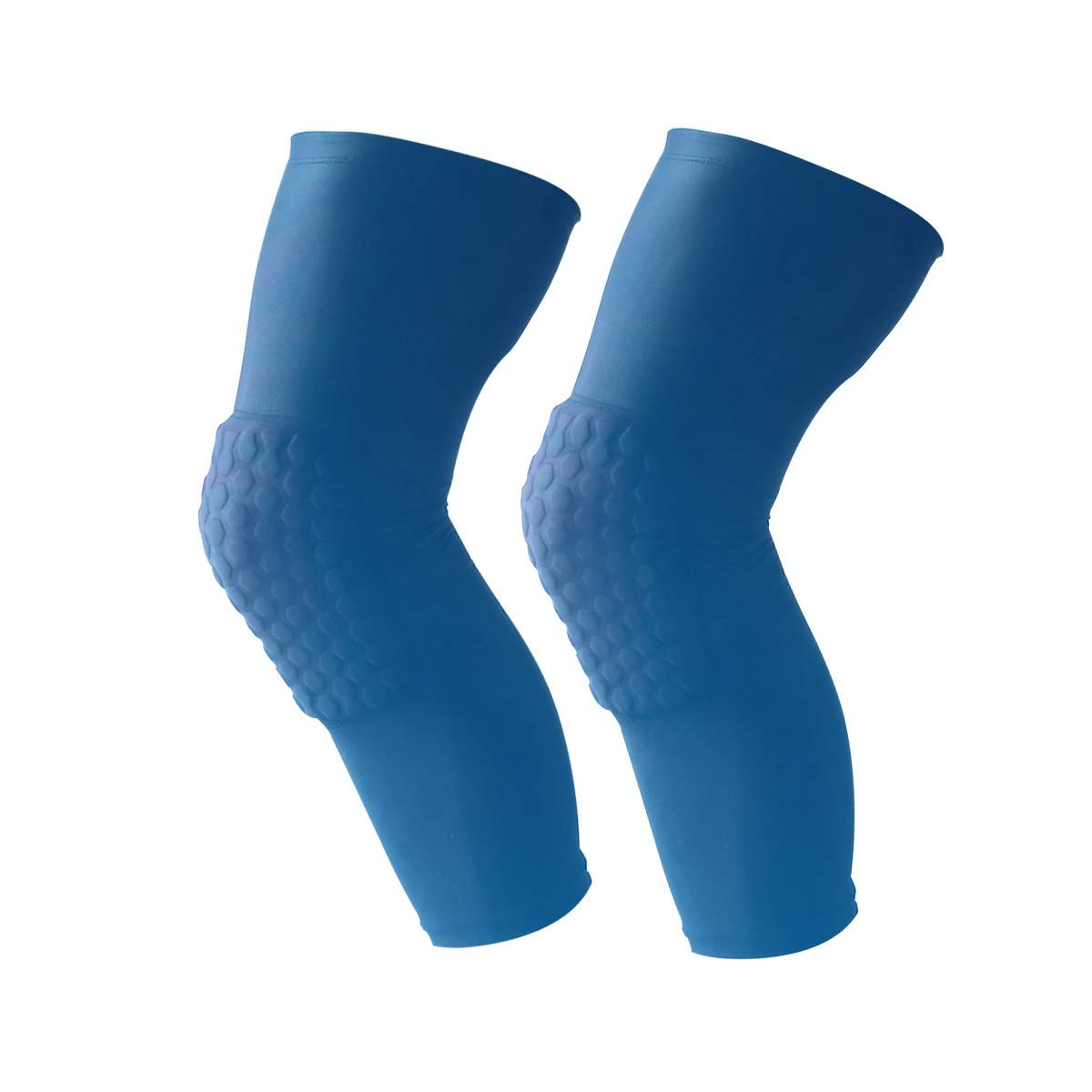 80151be622 Get Quotations · SunlightKnee Brace Compression Sleeve Knee Support Braces  with Cushion for Running, Workout, Sports,