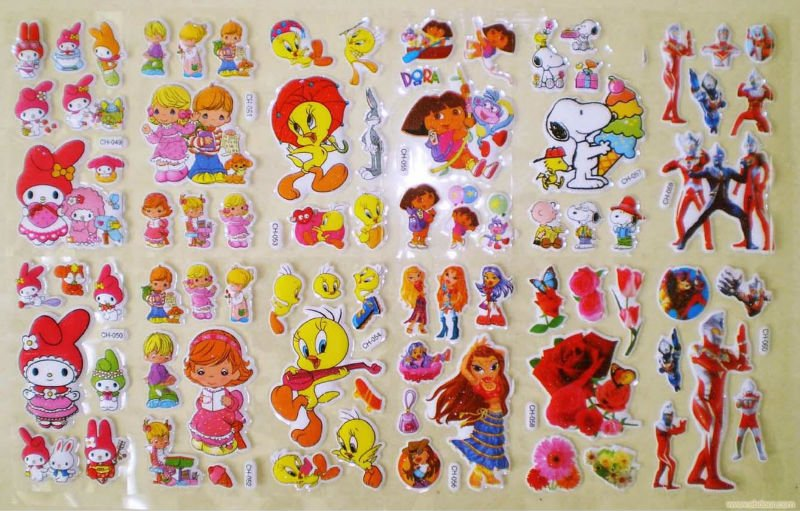 wholesale notebook cheap custom stickers