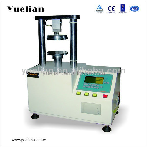 China CE high quality Micro-Computeried Ring Crush Strength Tester